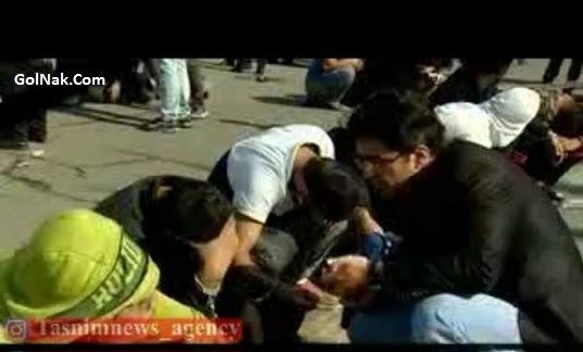 فیلم ماجرای دستگیری نیم ساعته سارقی که ماشین سردار رادان دزدیده بود