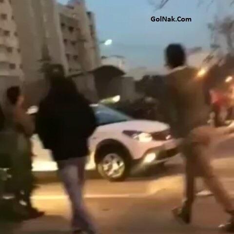 فیلم حمله دراویش گنابادی به ماموران پلیس کلانتری پاسداران 30 بهمن 96