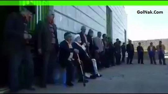 فیلم صحبت های جنجالی امام جمعه کزاز استان مرکزی درباره راهپیمایی 22 بهمن 96